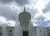 capitol building / fountain