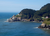 Heceta Head lighthouse (credit: Neil Howard)