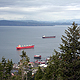 cargo ships, Astoria, Oregon