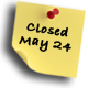 closed on May 24