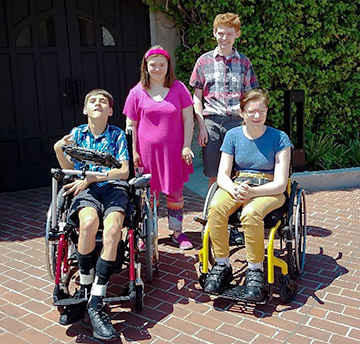 "Four young actors with disabilities shine in Oregon Shakespeare Festival's production of ""Hairspray—The Broadway Musical."""