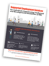 download the supported employment info graphic