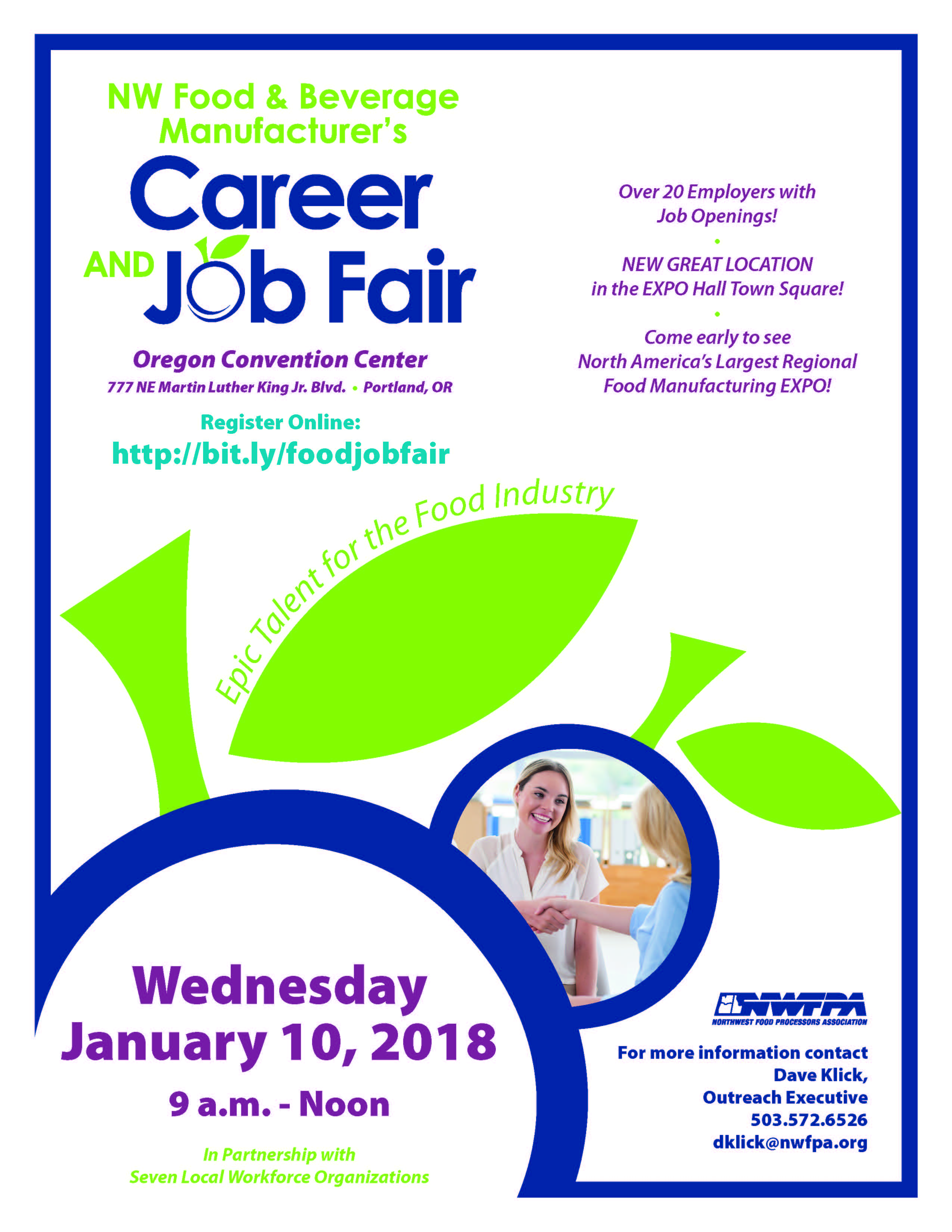 state of oregon job seekers job fairs and events