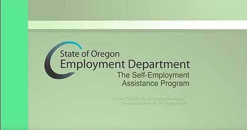 Click to play the video for Self Employment Assistance Program for Approved Applicants