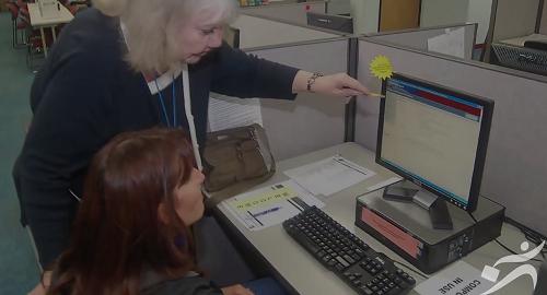 Click to play the video for Vison general de Centro de WorkSource Oregon