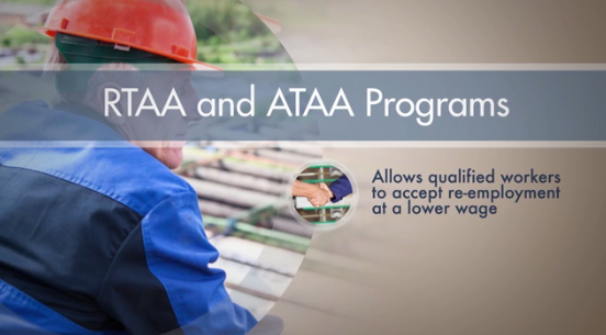 Click to play the video for Trade Act: Additional Benefits