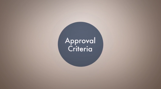 Click to play the video for Trade Act: Approval Criteria