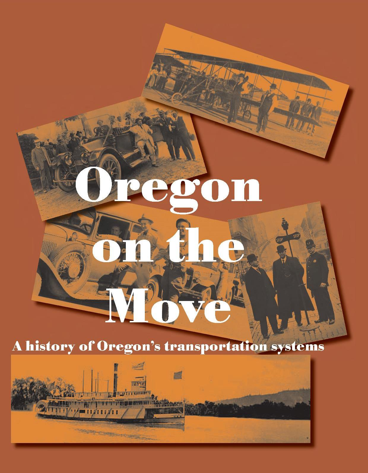 Oregon on the Move - Cover