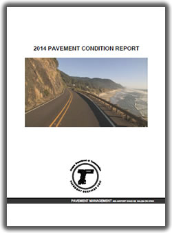 Cover of the Pavement Conditions Report