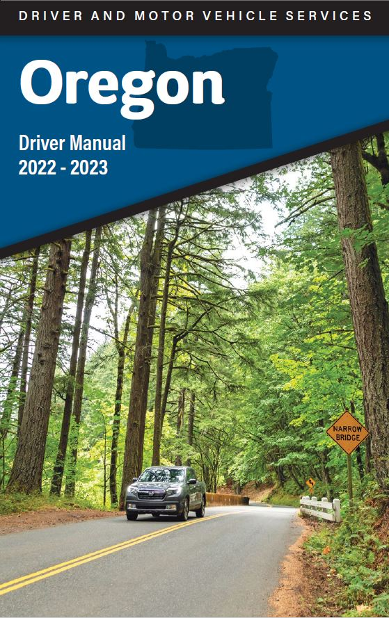 oregon department of transportation dmv manuals publications rh oregon gov oregon driver's manual practice test oregon driver's manual 2018 pdf
