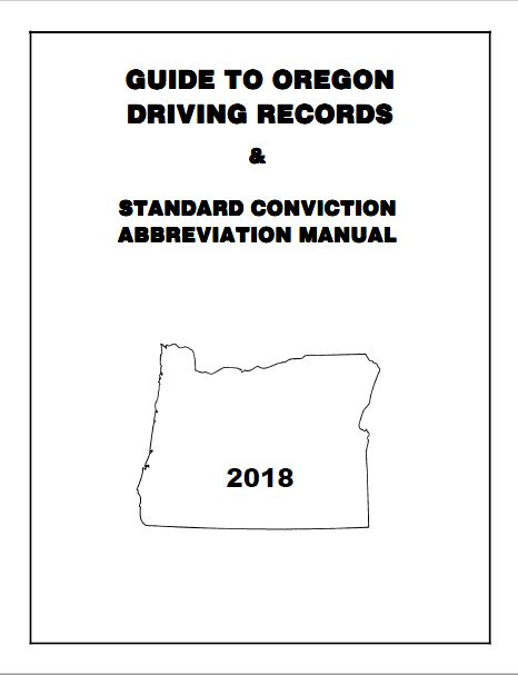 Guide To Oregon Driving Records 2018