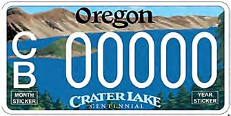 Crater Lake Plate