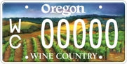 Wine Country plate