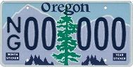 National Guard License Plate