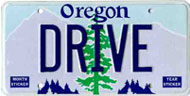 Custom Tree License Plate