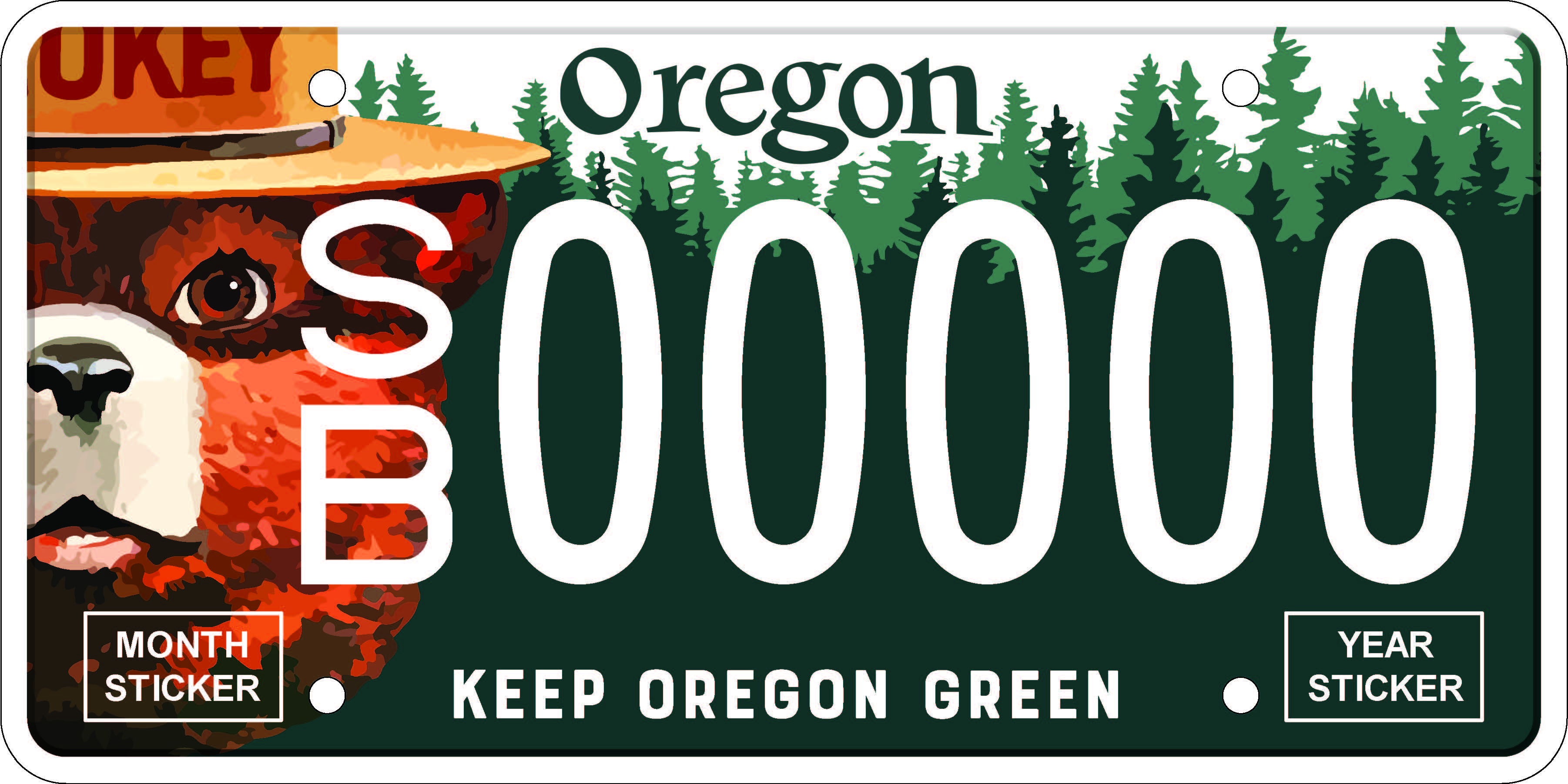 Oregon Department of Transportation : License Plates : Oregon Driver