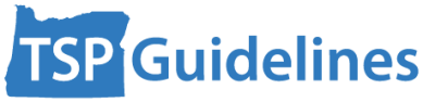 Transportation System Plan Guidelines logo