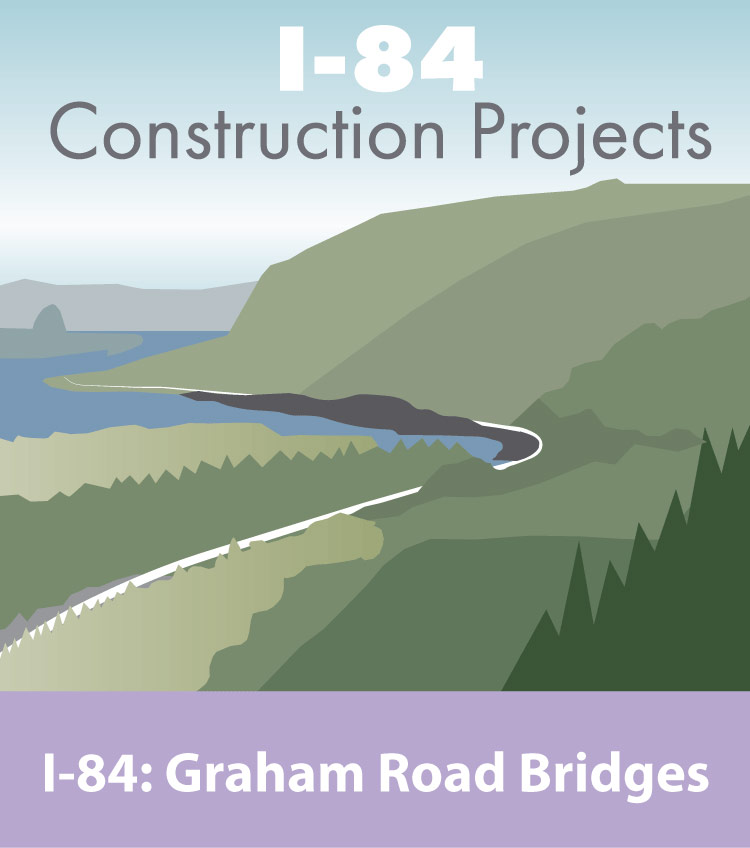 I-84 Construction Projects, Graham Road Bridges