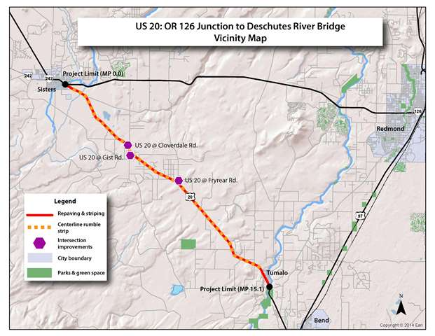 Oregon Department of Transportation : Project Details