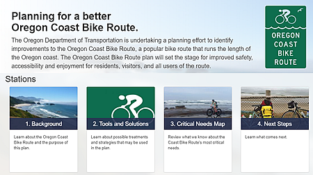 Pictue of Route Planning Home page
