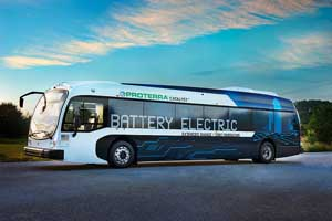 Battery Electric Powered Bus