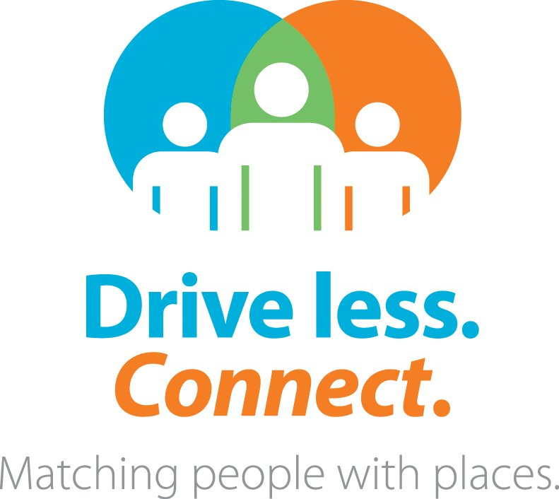 Click to go to Drive Less Connect Rideshare homepage