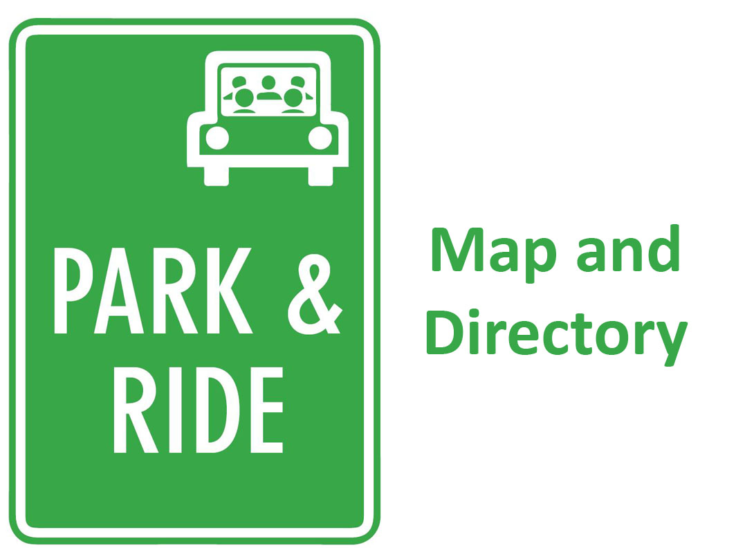 Click to see a map of Park and Rides in Oregon