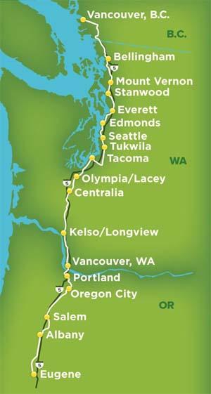 Oregon Department Of Transportation Passenger Rail Rail And