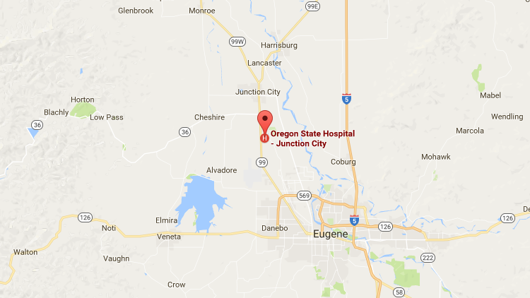 Salem Oregon Map Google.Oregon Health Authority Contact Oregon State Hospital State Of