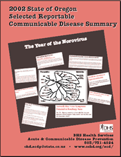 2002 Complete Report: Reportable Communicable Disease Summary