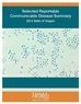 2012 Selected Reportable Communicable Disease summary