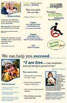 Quit Line Brochure for People with Disabilities (pdf)