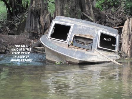 Boat for Sale -Abandoned and derelict vessels are a growing problem and create environmental and safety hazards on our waterways