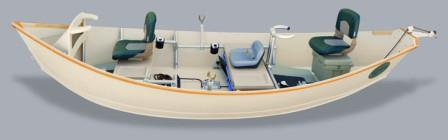 Image of a drift boat.