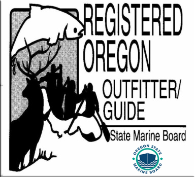 Registered Oregon Guide and Outfitter Decal