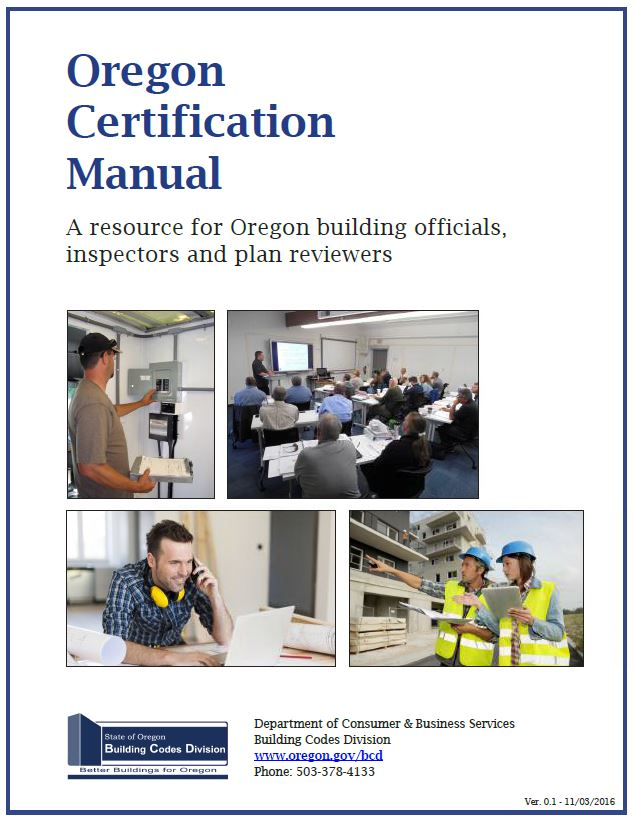 State Of Oregon Building Codes Division Home