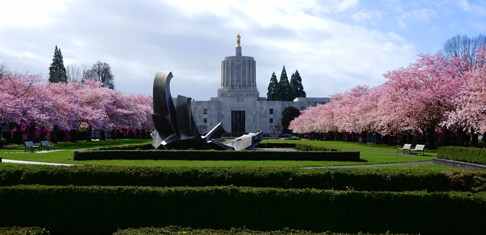Oregon Capital in Spring