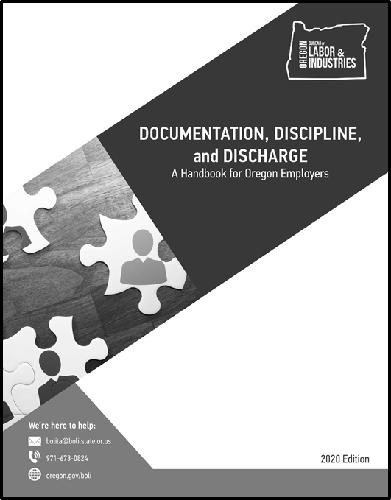 Documentation, Discipline & Discharge cover