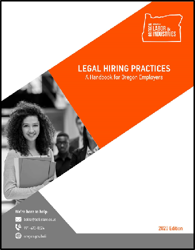 Legal Hiring Practices cover