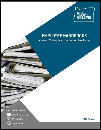 Employee Handbooks cover