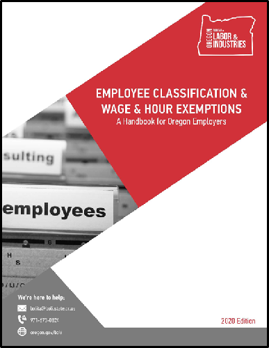 Employee Classification & Wage and Hour Exemptions cover