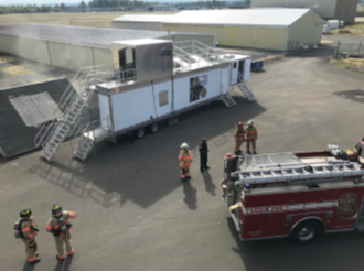 Mobile Fire Training Unit