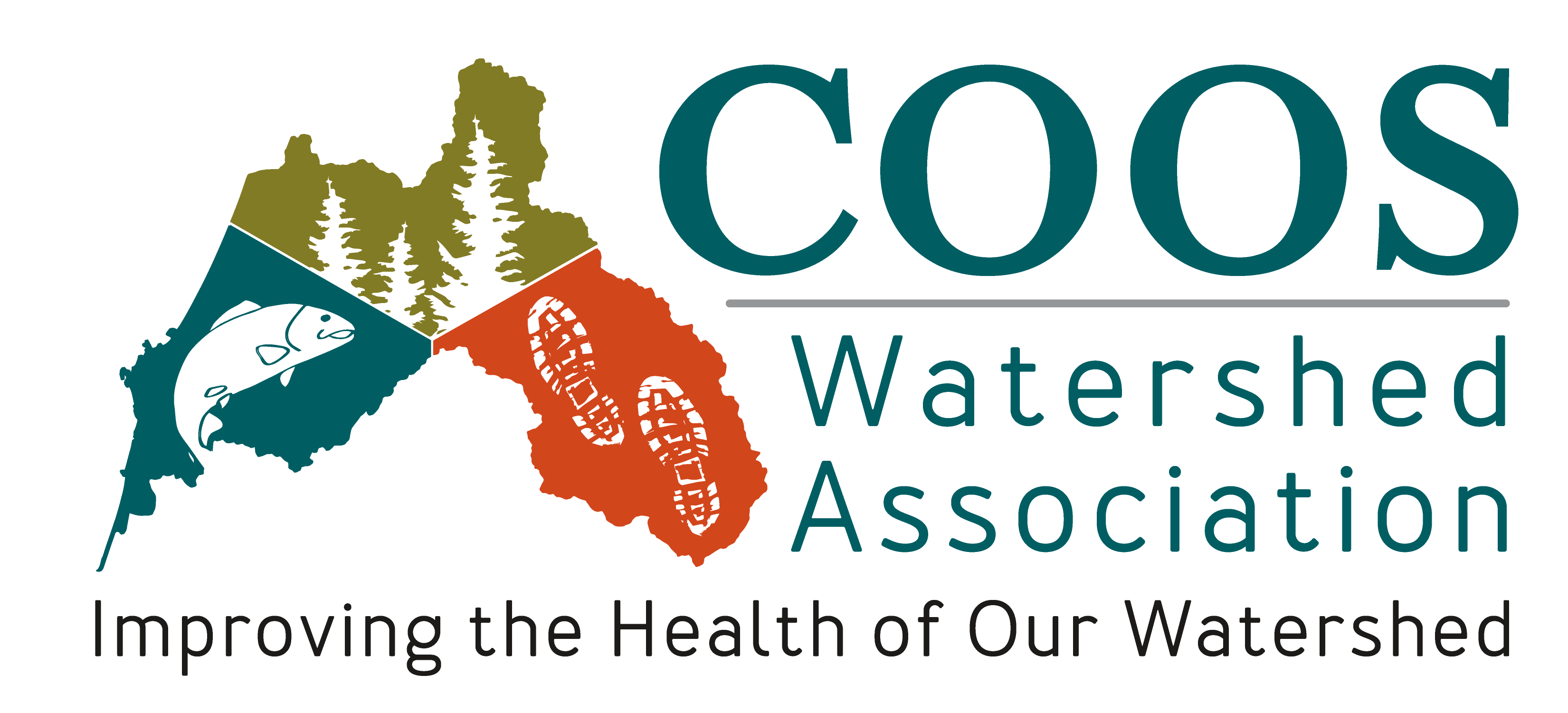 Logo for the Coos Watershed Council
