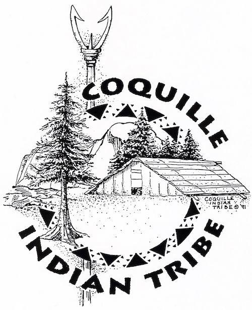 Logo for the Coquilla Indian Tribe
