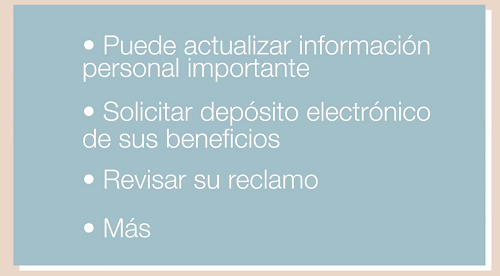 Click to play the video for Cómo cambiar su dirección postal (How to Change Your Mailing Address)
