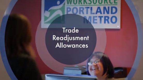 Click to play the video for Trade Act: Trade Readjustment Allowances