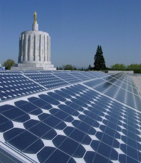 Solar on the State Capitol