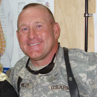 Oregon National Guard Lt. Colonel James L. Wiley