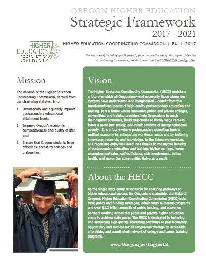 Image of HECC Strategic Framework