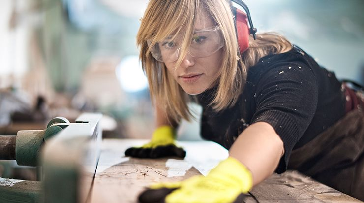 Photo of woman working
